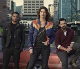 Il cast della serie Stumptown