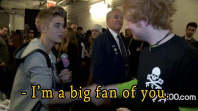 L'amicizia tra Ed Sheeran e Justin Bieber