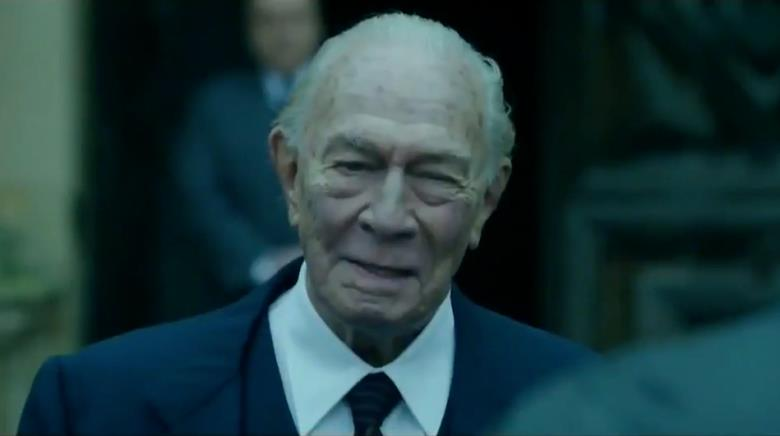 Christopher Plummer in primo piano