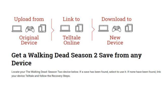 Procedimento per importare i salvataggi di The Walking Dead 2