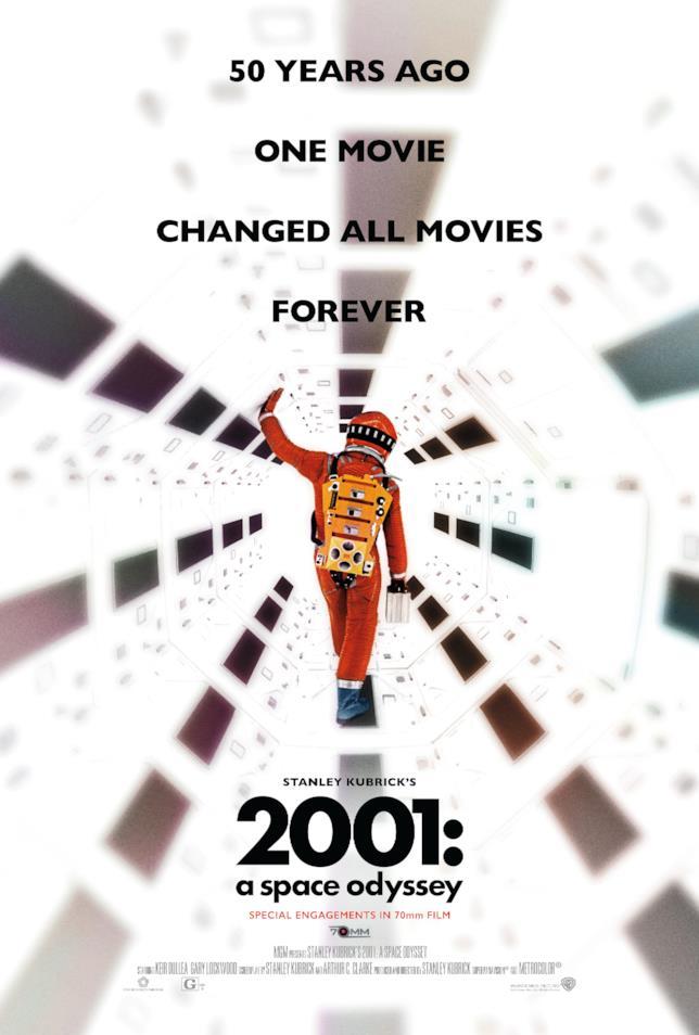 2001: Odissea nello spazio, il poster per l'evento dei 50 anni
