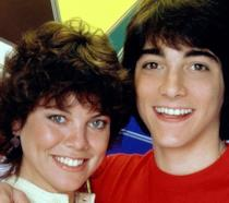 Erin Moran e Scott Baio ai tempi di Happy Days