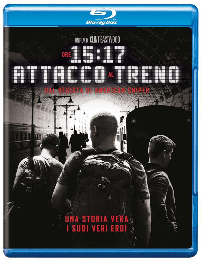 Ore 15:17 - Attacco al treno, versione Blu-ray