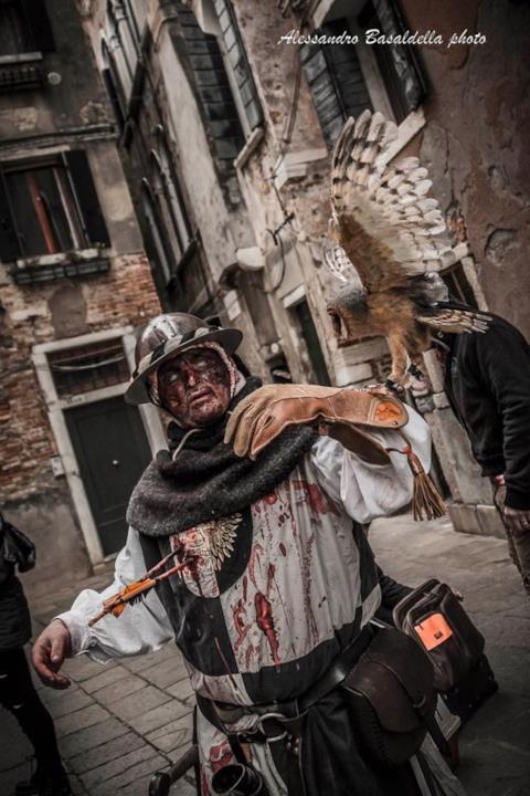Il travestimento del vincitore alla Zombie Walk Venezia.
