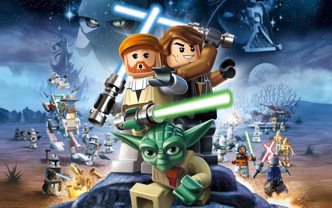 La cover art di LEGO Star Wars
