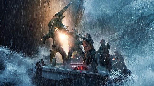 Una scena del film L'ultima tempesta