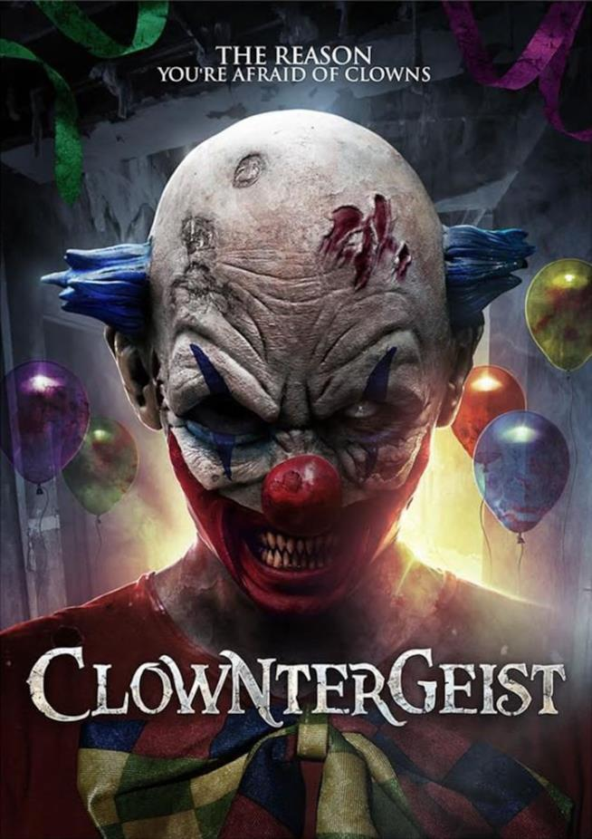 Clowntergeist poster ufficiale