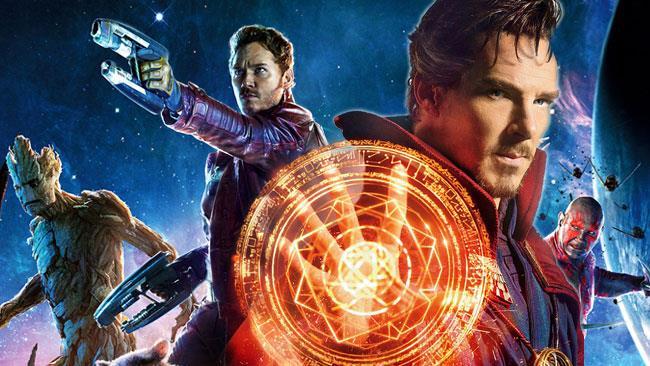 Peter Quill e i Guardiani della Galassia e Doctor Strange
