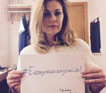 Il contributo di Alessia Marcuzzi per #EveryChildIsMyChild