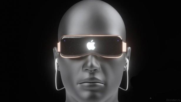 Concept di un visore AR di Apple