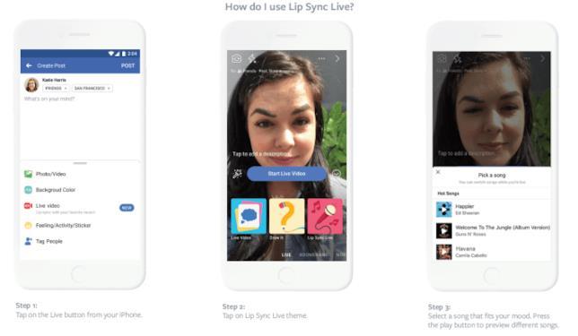 Tutorial sull'utilizzo di Lip-SyNc Live di Facebook