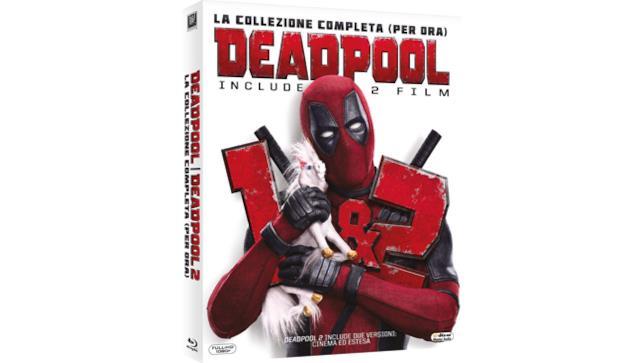 Deadpool 1 e Deadpool 2 - cofanetto Blu-ray