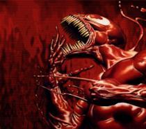 Un'immagine del personaggio Carnage di Spider-Man