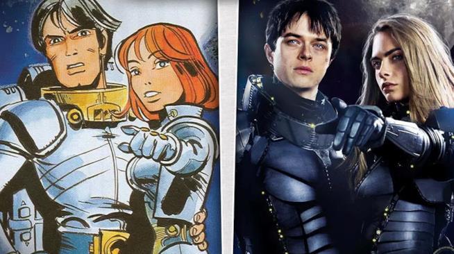 Valerian e la Città dei Mille Pianeti - graphic novel e live-action