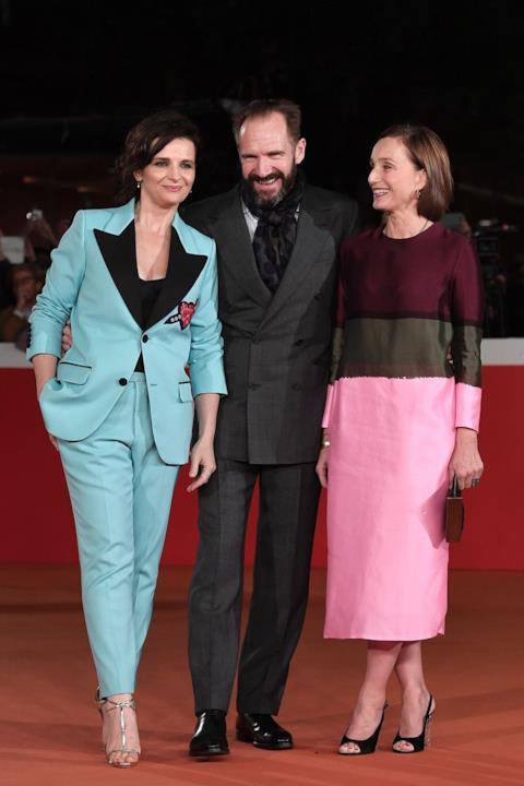 Juliette Binoche, Ralph Fiennes e Kristin Scott Thomas a Roma per Il Paziente Inglese
