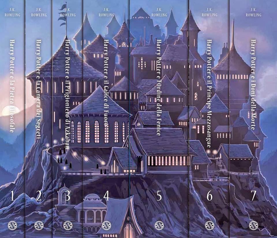 Risultati immagini per harry potter edizione castello