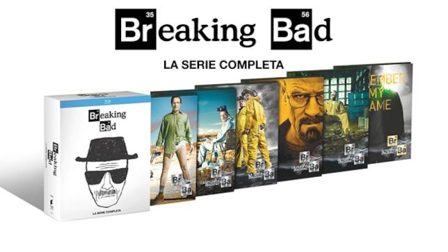 Breaking Bad Collection - White Edition in Blu-Ray