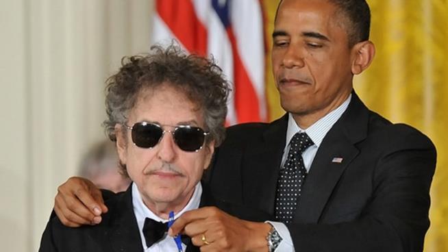 Bob Dylan insignito della Presidential Medal of Freedom