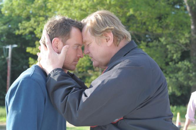 Michael Fassbender (Chad) e Brendan Gleeson (Colby)