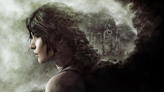 Il profilo di Lara Croft in un artwork ufficiale di Rise of the Tomb Raider