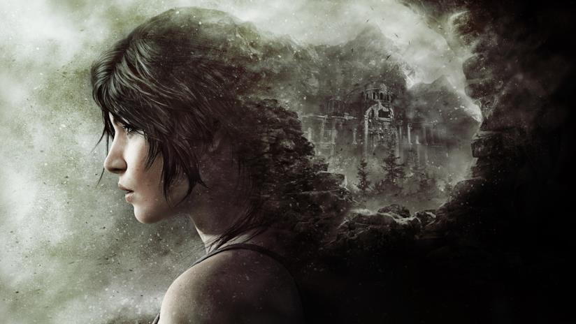 Il profilo di Lara Croft in un artwork ufficiale di Rise of the Tomb Raider
