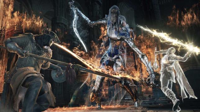 Un'immagine di gioco da Dark Souls III