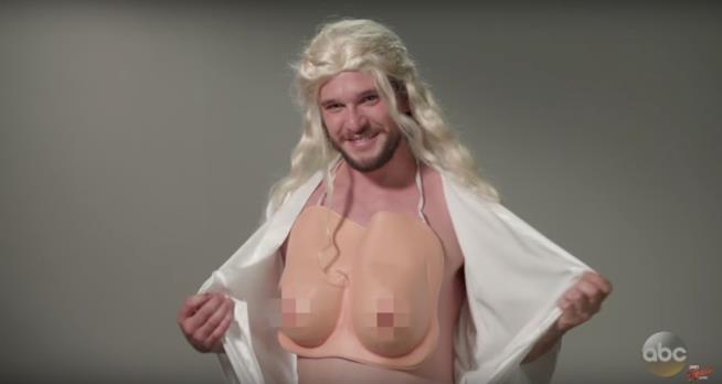 Kit Harington nei panni di Daenerys