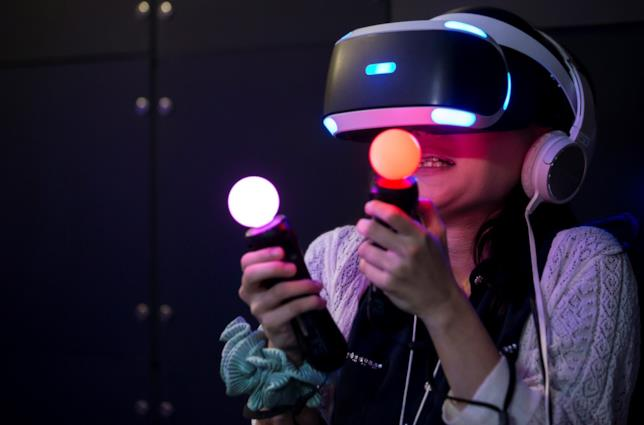 PlayStation VR in uso al Tokyo Game Show