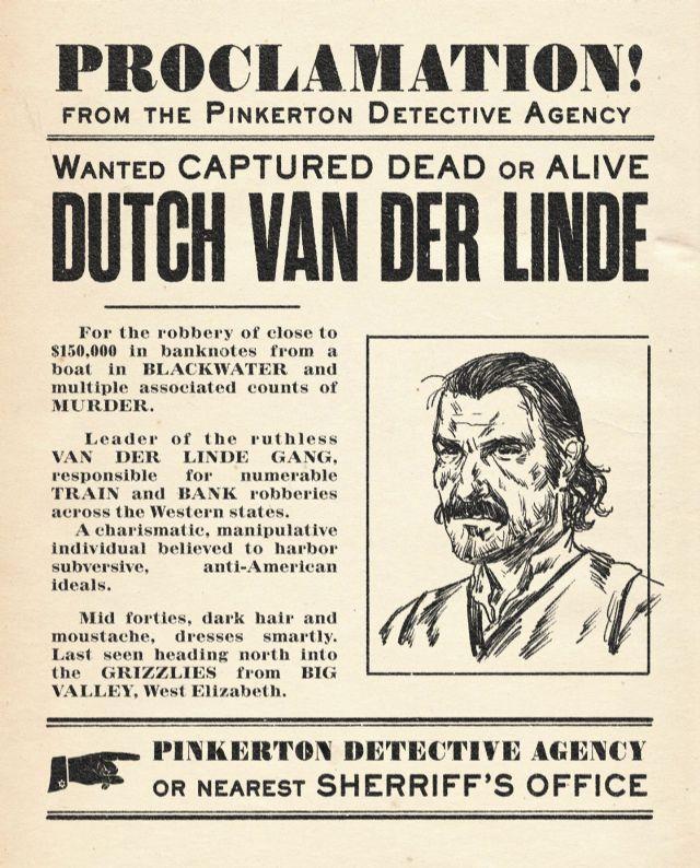 Dutch Van Der Linde è il leader della gang protagonista di Red Dead Redemption 2