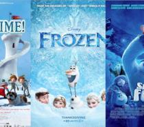 Locandine di Palle di neve, Frozen, Smallfoot