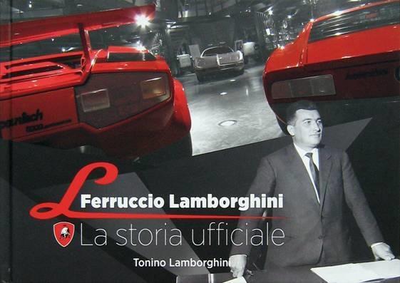 La copertina de Ferruccio Lamborghini - La storia ufficiale