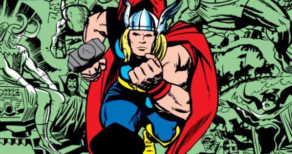 Il Dio del Tuono Marvel in una delle copertine dei fumetti
