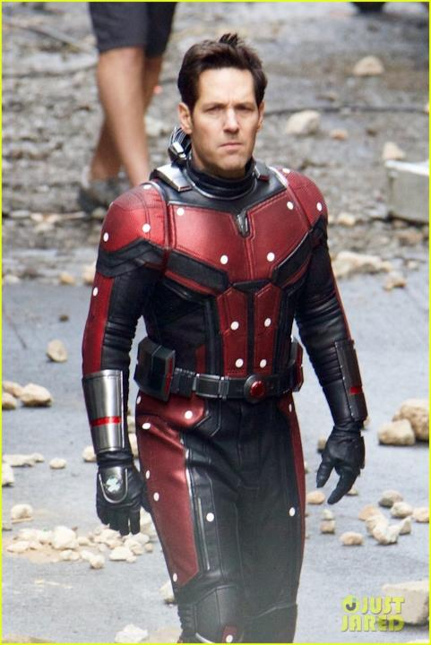 Ant-Man in azione sul set di Avengers 4