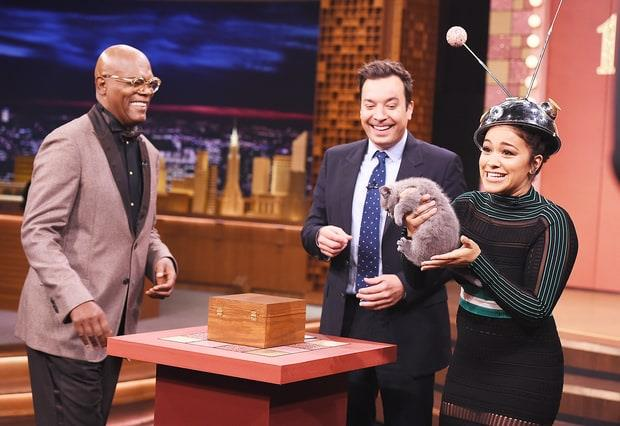 The Tonight Show con Jimmy Fallon: Samuel L. Jackson e Gina Rodriguez