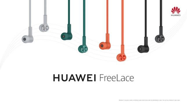 Immagine promozionale delle cuffie Huawei FreeLace