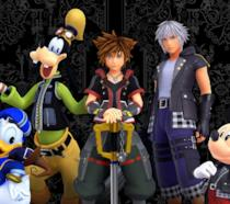 I protagonisti di Kingdom Hearts III in un'immagine pubblicitaria