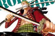 Zoro di One Piece con le sue spade