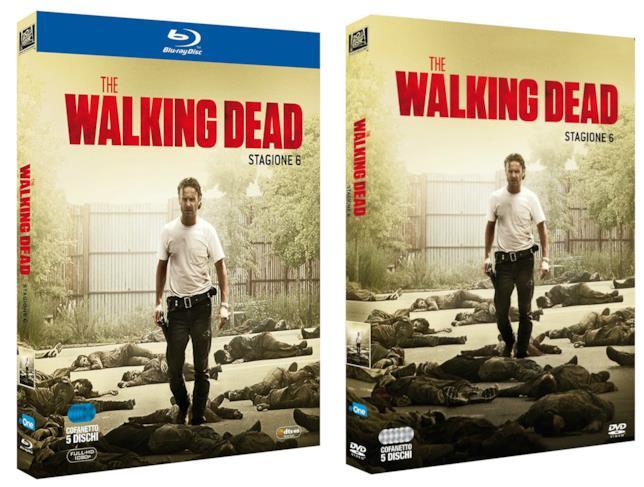 Le cover italiane dell'edizione home video della sesta stagione di The Walking Dead
