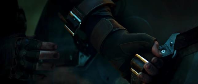 Steve Rogers indossa lo scudo circolare