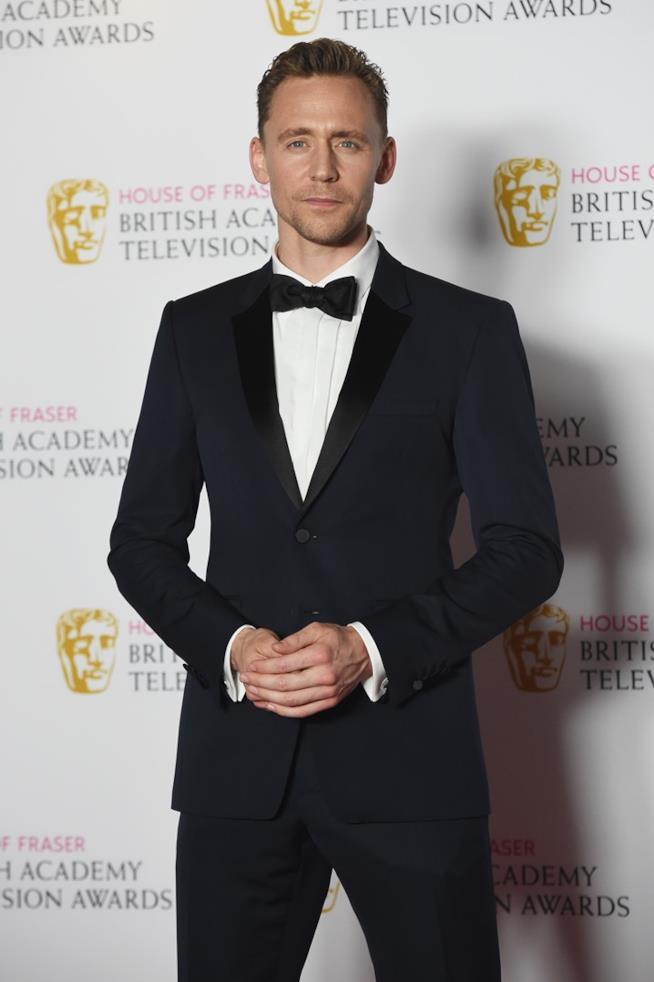 Tom Hiddleston all'Touse Fraser British Academy Television