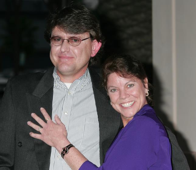 Erin Moran e il marito