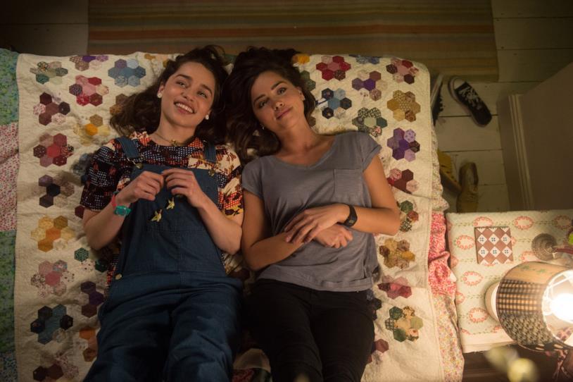 Io Prima di Te, Emilia Clarke e Jenna Coleman sono le sorelle Clark