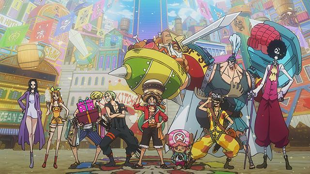 One Piece Stampede ciurma di Rufy