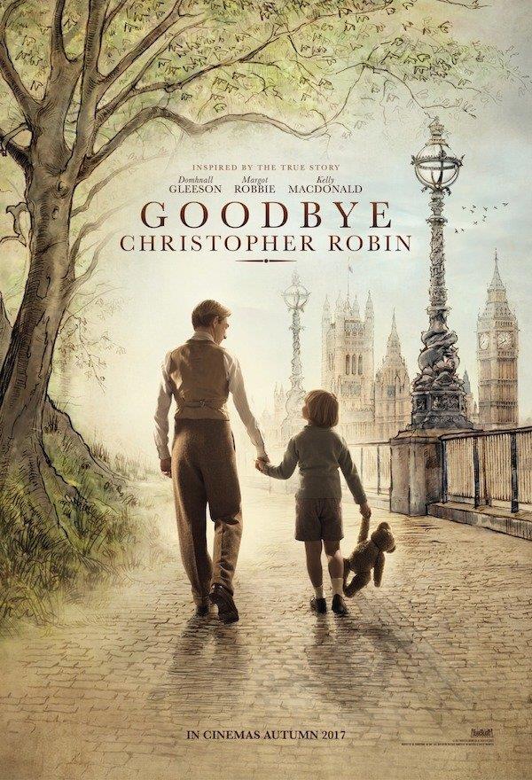 Il poster ufficiale di Goodbye Christopher Robin, il film con Domhnall Gleeson e Margot Robbie