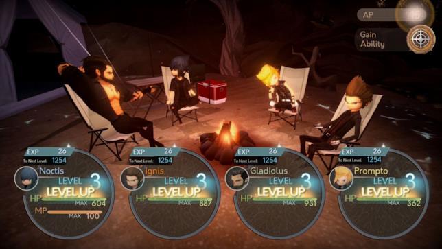 Final Fantasy XV: Pocket Edition schermata dal gioco mobile