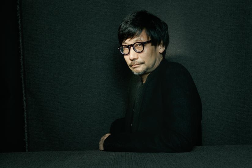 Hideo Kojima in una foto promozionale dei BAFTA