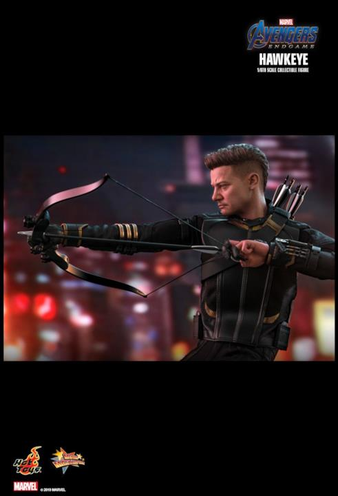 Hawkeye in Avengers: Endgame per Hot Toys