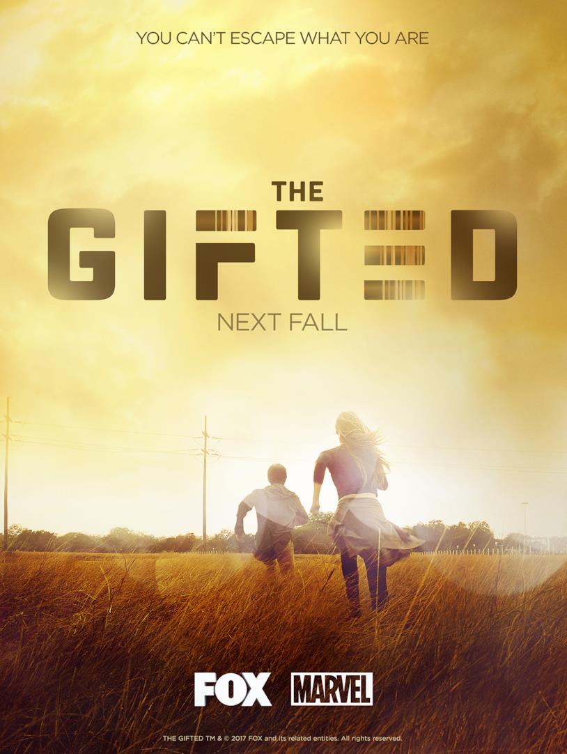 Il poster di The Gifted, nuova serie Marvel in arrivo su FOX