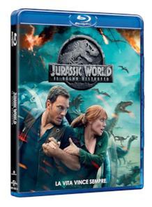 Il Blu-ray di Jurassic World: Il regno distrutto