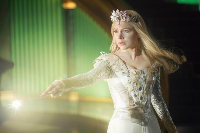 Michelle Williams in una scena di Il Grande e potente Oz